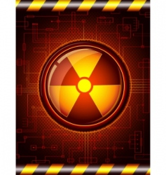 danger button vector image