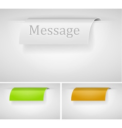 abstract color labels vector image