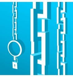 Chain for the prisoner vector