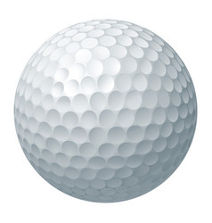golf ball vector image vector image