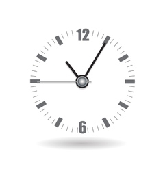 Realistic Clock Alarm Watch vector image