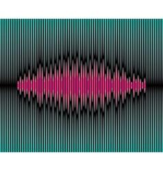 Sliced waveform background vector image vector image