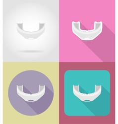 Sport flat icons 26 vector