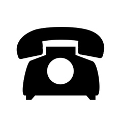 Telephone phone vintage vector