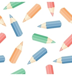 set of pencils vector image vector image