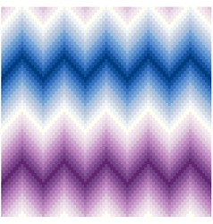 Seamless pixel chevron background pattern vector