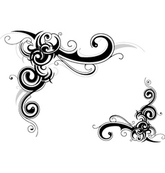 Abstract swirls vector