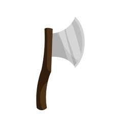 Axe icon cartoon style vector