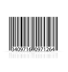 bar code stock vector image