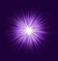 Purple explosion graphic design background vector
