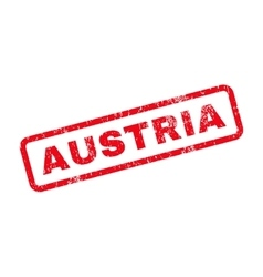 Austria text rubber stamp vector