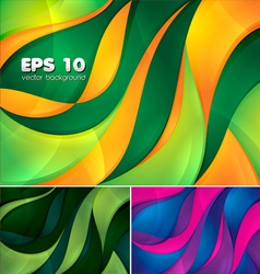 Curvy abstract background 2 vector image
