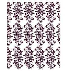 Classic royal ornament flower pattern vector