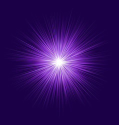 Abstract purple blast design on dark background vector