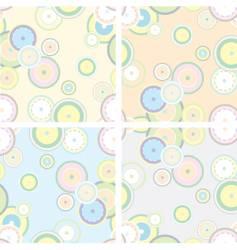 pastel retro style vector image vector image