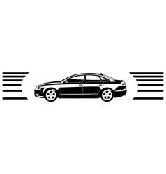 sedan vector image vector image