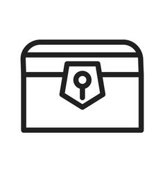 Treasure chest i vector
