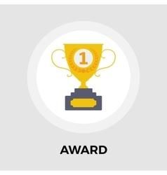 Award flat icon vector