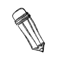 Pencil draw utensil vector image