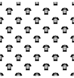 Sensor electronic t shirt pattern simple style vector
