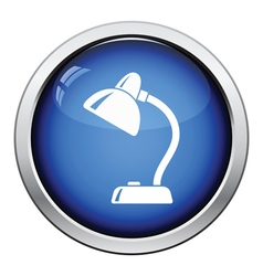 Icon of lamp vector