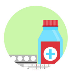cold treatment icon vector image