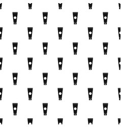 Cream tube pattern vector