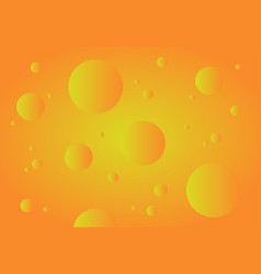 orange abstract technology background gradient vector image vector image