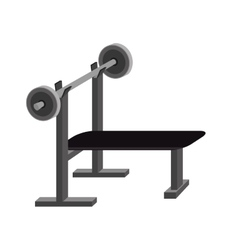 Weight dumbbell exercise vector