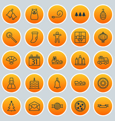 New icons set collection of placard pizza meal vector