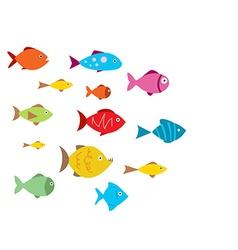 Aquarium Fishes vector image vector image