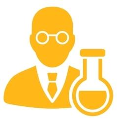 Chemist icon vector