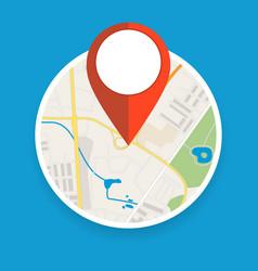 Navigation geolocation icon vector