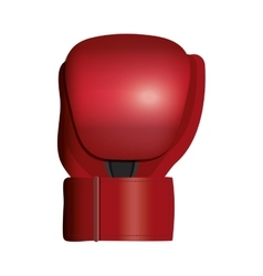 Isolated boxing glove vector