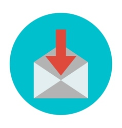 Incoming messages icon vector
