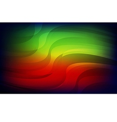 Abstract light red green blue background vector image