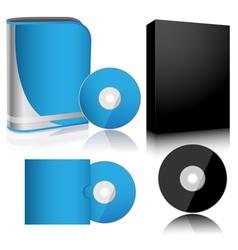 box set vector image