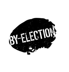 By-election rubber stamp vector