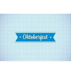 Oktoberfest background vector