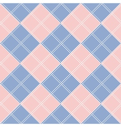 Rose quartz serenity diamond chessboard vector