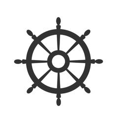 Wheel symbol vector