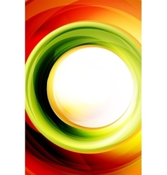 Bright swirl motion abstract background vector