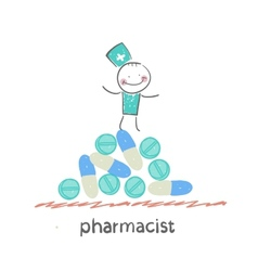 Pharmacist vector