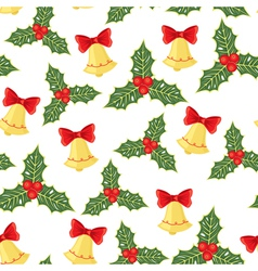 christmas pattern vector image vector image