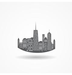 City Icon vector image vector image