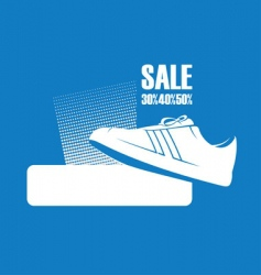 gym shoes vector image vector image