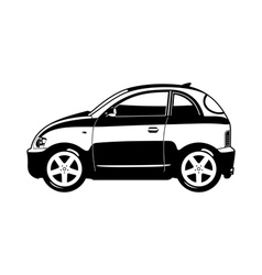 smallest car vector image vector image