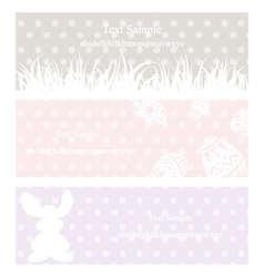 Rabbit grass vintage eps10 vector