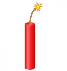 dynamite vector image vector image