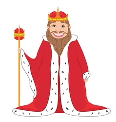 King - isolated drawing vector